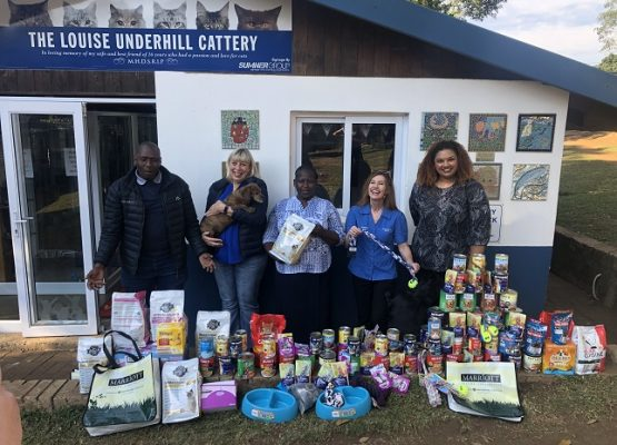 Hillcrest charities benefit from Marriott Asset Management Mandela Day donations
